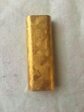 AUTHENTIC CARTIER Gold-Plated Oval Lighter
