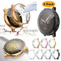 TPU Plated Protector Bumper Case Cover For Samsung Galaxy Watch Active2 40 44mm