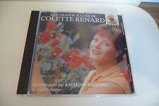 LES GRANDS SUCCES DE COLETTE RENARD ACCOMPAGNEE PAR RAYMOND LEGRAND.CD