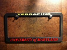UNIVERSITY of MARYLAND license plate frame terrapins