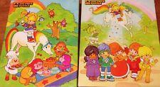 Rainbow Brite Puzzle Starlite Twink Sprites Color Kids 200 Pc  1983 Hallmark