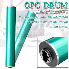 More details for green opc drum for konica minolta bizhub c5500 c5501 c6500 c6501 c6000 c7000