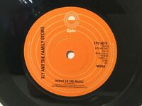 """Sly & The Family Stone – Dance To The Music - 7"""" Vinyl Single – 1977 -REF.8045"""
