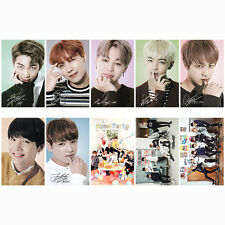 10pics BTS CARDS STICKER BANGTAN BOYS WINGS YOU NEVER WALK ALONE KT-BTS4