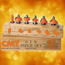"CMT 6-Piece Profile Bit Set, 1/2"" shank 800.504.11"