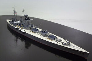 BUILT>1/700 WWII ROYAL NAVY BATTLESHIP HMS NELSON