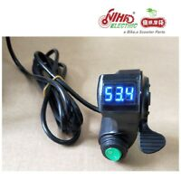 26  E-BIKE Thumb Throttle with LCD Digital Battery Voltage Display and Cruise