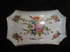 vintage Limoges , Pin Dish ( 5in. long x 3 in. wide)