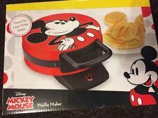 Mickey Mouse Face Shaped Waffle Iron Maker Baker Disney