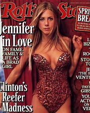 Jennifer Aniston Rolling Stones Cover Wall Poster Print Art Decoration 16x20 In