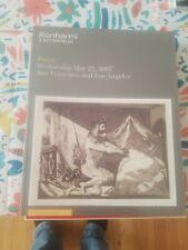 Bonhams Auction Catalog - 5/23/2007 - Prints- Warhol, Chagall - LA & SF