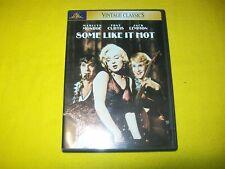Some Like It Hot Dvd Marilyn Monroe Tony Curtis Jack Lemmon