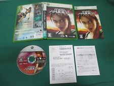 Xbox360 -- TOMB RAIDER LEGEND LARA CROFT -- JAPAN. GAME. Work. 46554