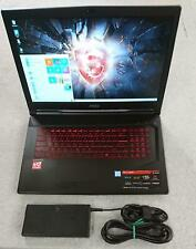 MSI GL73 8RD-201US Laptop Intel Core i5-8300H 2.30GHz, 8GB, 256GB+1TB, GTX1050ti