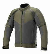 Giacca Giubbotto da moto Alpinestars Headlands Drystar black/verde militare