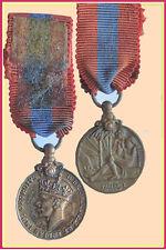Imperial Service Medal George VI Miniature