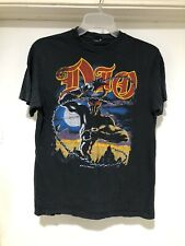 Vintage 1984 Dio World Tour T Shirt Size Small Heavy Metal Rock Music RARE