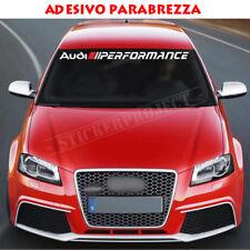 Adesivo AUDI PERFORMANCE PARABREZZA A3 S1 S3 S5 A4 A5 A6 Q3 Q5  TT Sline Sticker