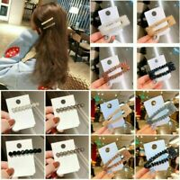 Fashion Crystal Bead Hair Clip Girls Hairband Comb Barrette Hairpin Headdress