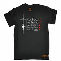 No Fuel No Traffic Free Workout T-SHIRT tee cycling jersey funny birthday gift