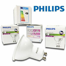 6x Philips 2w = 20 W 3000k Blanco Cálido De Ahorro de energía Gu10 Foco Led Light Bulbs