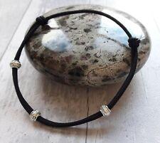 Anklet Black Tibetan Beads Boho Adjustable Ankle Bracelet Friendship Pretty