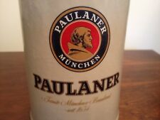 New listing Combine Ship: great condition Paulaner Munchen 1Liter 1L German beer stein mug