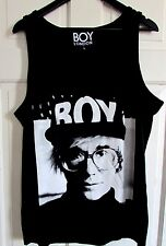 New With Tags Rare Boy London Limited Edition Men's Andy Warhol Vest Tank