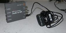 Blackmagic audio to SDI converter embedder (4ch analog / 8ch AES to SD/HD / 3G e