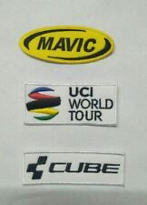 ecusson patch mavic uci world tour cube velo giro tour de france vuelta vtt