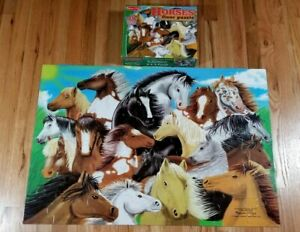 Melissa and Doug Horse Giant Floor Puzzle 48 Piece Complete