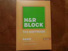 2015 H&R Block Basic 1040 Federal turbo formely Tax Cut New CD in the Box