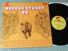 REGGAE STEADY GO various Reggae artists RHINO RECORDS LP SRNN 7001!