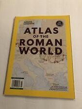 ATLAS OF THE ROMAN WORLD national geographic 30 MAPS roman empire NO LABEL