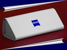 Schickes & edles BRILLENETUI ETUI  original  von  ZEISS  weiß mit blauem Emblem