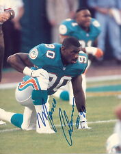 MIAMI DOLPHINS AUTOGRAPHED 8 X 10 COLOR PHOTO MARCO COLEMAN ( 4 ) !!!