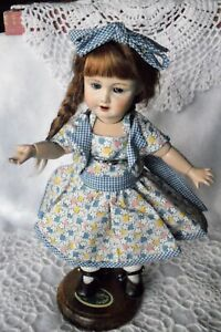 Bleuette Doll Dress+Jacket, Cream Fabric-G-L Reproduction,Dress with Bolero Jkt