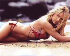 ANNA KOURNIKOVA Signed Autographed SEXY RED BIKINI Photo