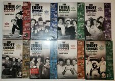 The Three Stooges Collection Volumes 1-8  1,2,3,4,5,6,7 NEW 8 Excellent Used