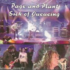 ROBERT PLANT & JIMMY PAGE Live on TV/Sick Of Queueing CD LED ZEPPELIN Yardbirds