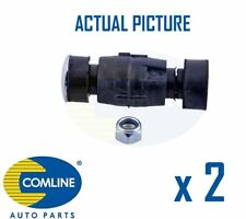 2 x NEW COMLINE FRONT DROP LINK ANTI ROLL BAR PAIR OE QUALITY CSL7077