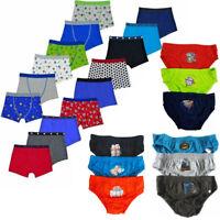 Boys Boxer Shorts Boxers Boxer Trunks Boys Underwear Pants Underpants Multipack