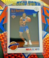 RJ BARRETT RC PANINI NBA HOOPS 2019-20 BASKETBALL TRIBUTE #298 ROOKIE KNICKS