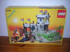 (HK) LEGO LEGOLAND Ritterburg 6081 Kings Mountain Fortress  OVP + BA
