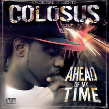 Rare OOP Colosus Ahead of my Time CD Gangsta G-FUNK Southern Miami Hip Hop Rap