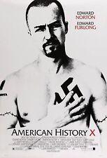 American History X 11x17 Poster Print Edward Ed Norton