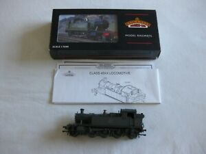 BACHMANN 45XX BR TANK ENGINE WEATHERED BLACK No. 4573 GOOD CONDITION SEE SCANS.