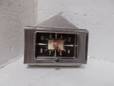1957 Ford Fairlane Custom Clock Beautiful. Serviced and Works Perfectly