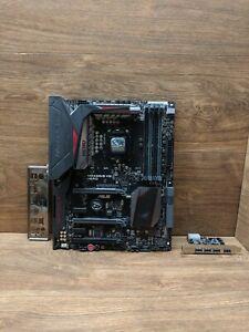 ASUS MAXIMUS VIII HERO INTEL ATX MOTHERBOARD *Working* Broken USBs