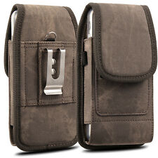 Heavy Pouch Case Cover Belt Clip Loop Holster For Large iPhone 8 7 6 Plus Xs Max